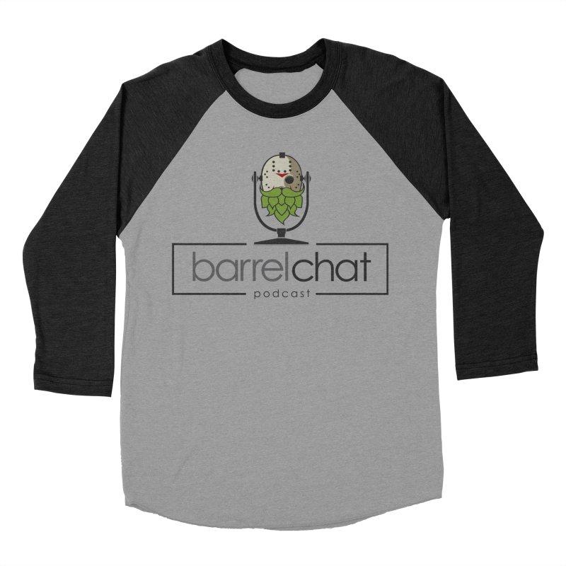 Barrel Chat Podcast - Halloween (Jason Voorhees) Men's Baseball Triblend Longsleeve T-Shirt by Barrel Chat Podcast Merch Shop