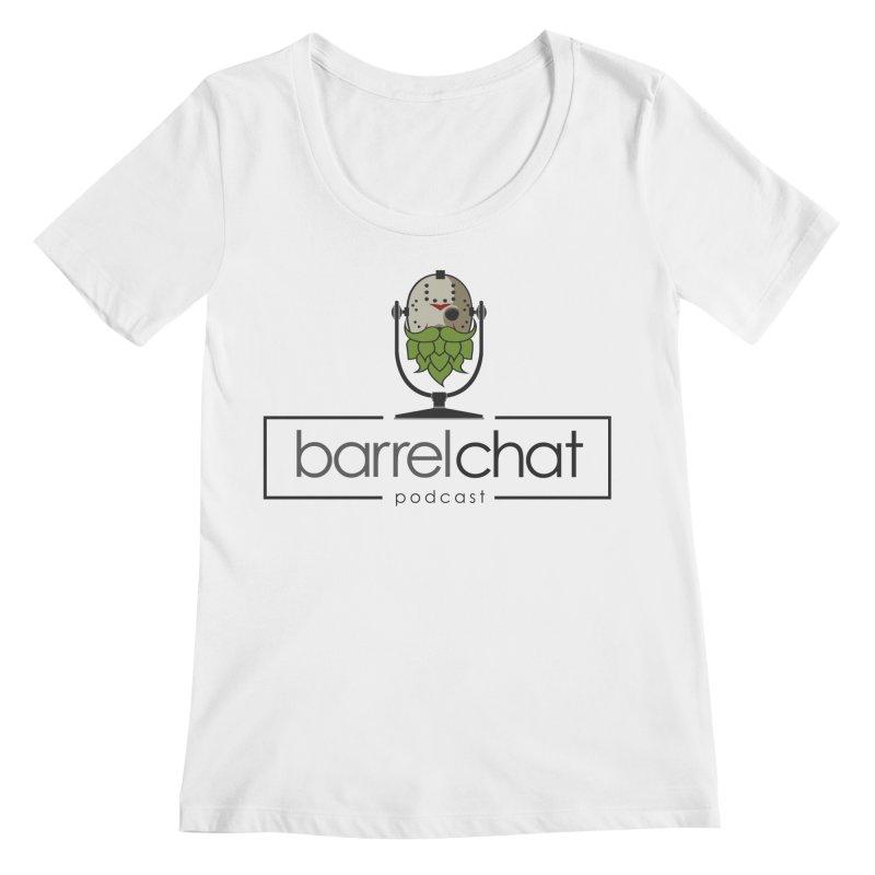 Barrel Chat Podcast - Halloween (Jason Voorhees) Women's Regular Scoop Neck by Barrel Chat Podcast Merch Shop