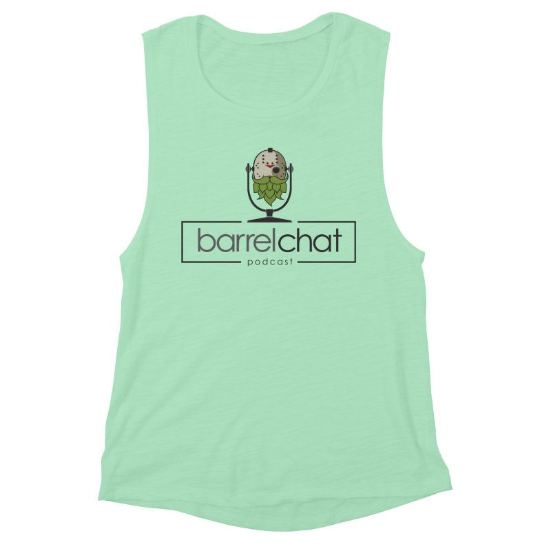 Barrel Chat Podcast - Halloween (Jason Voorhees) Women's Muscle Tank by Barrel Chat Podcast Merch Shop