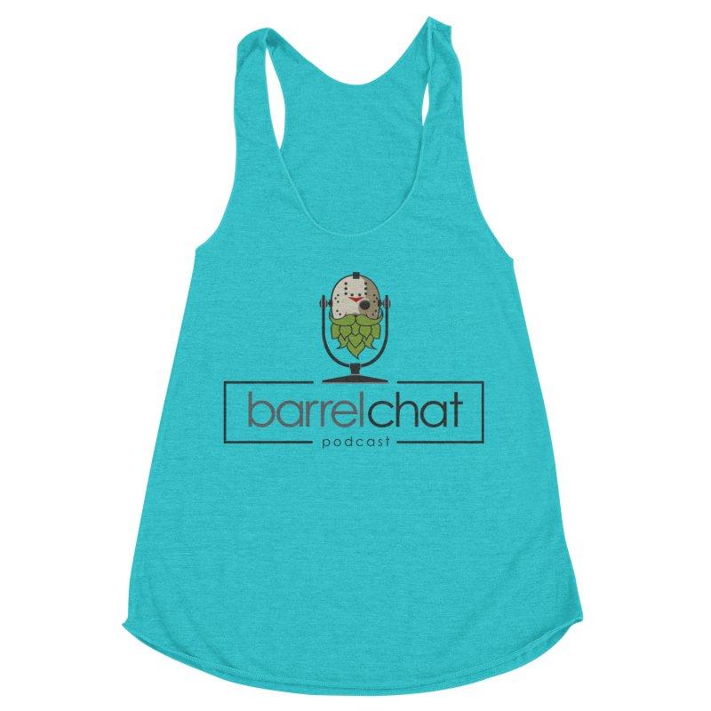 Barrel Chat Podcast - Halloween (Jason Voorhees) Women's Racerback Triblend Tank by Barrel Chat Podcast Merch Shop