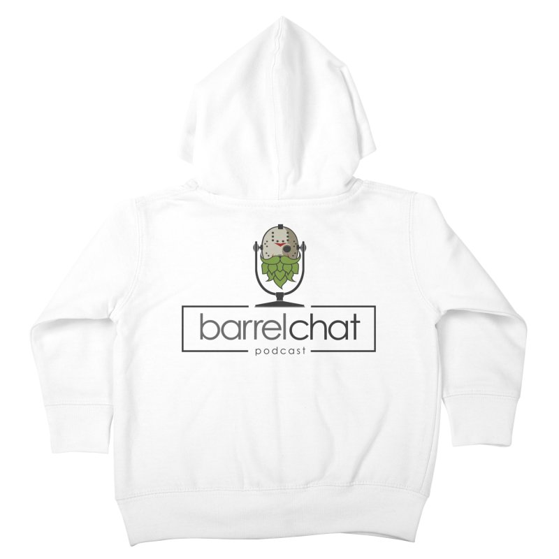 Barrel Chat Podcast - Halloween (Jason Voorhees) Kids Toddler Zip-Up Hoody by Barrel Chat Podcast Merch Shop