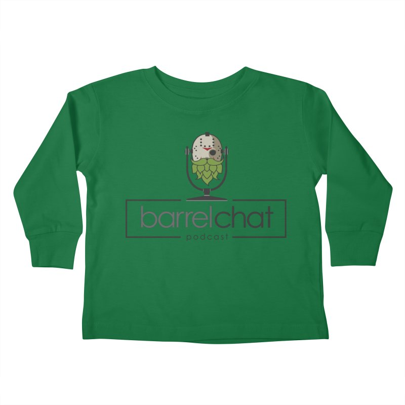 Barrel Chat Podcast - Halloween (Jason Voorhees) Kids Toddler Longsleeve T-Shirt by Barrel Chat Podcast Merch Shop