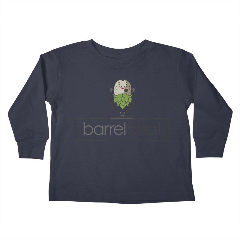 Barrel Chat Podcast - Halloween (Jason Voorhees) Kids Toddler Longsleeve T-Shirt by Barrel Chat Podcast Merch Shop