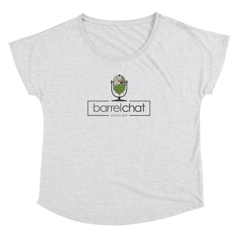 Barrel Chat Podcast - Halloween (Jason Voorhees) Women's Dolman Scoop Neck by Barrel Chat Podcast Merch Shop