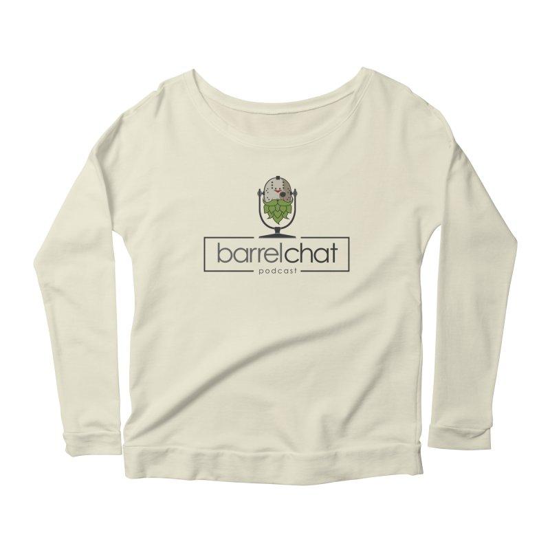 Barrel Chat Podcast - Halloween (Jason Voorhees) Women's Scoop Neck Longsleeve T-Shirt by Barrel Chat Podcast Merch Shop
