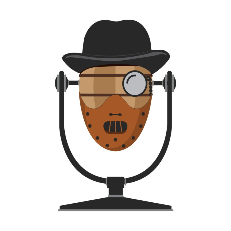 Halloween Hoppy - Hannibal Lecter by Barrel Chat Podcast Merch Shop