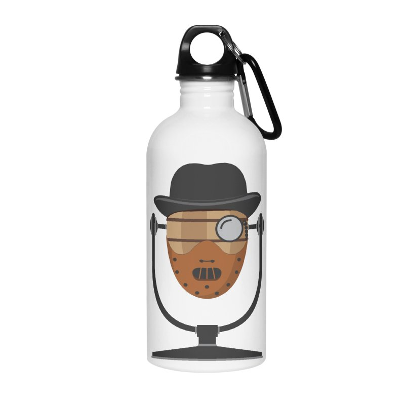 Halloween Hoppy - Hannibal Lecter Accessories Water Bottle by Barrel Chat Podcast Merch Shop