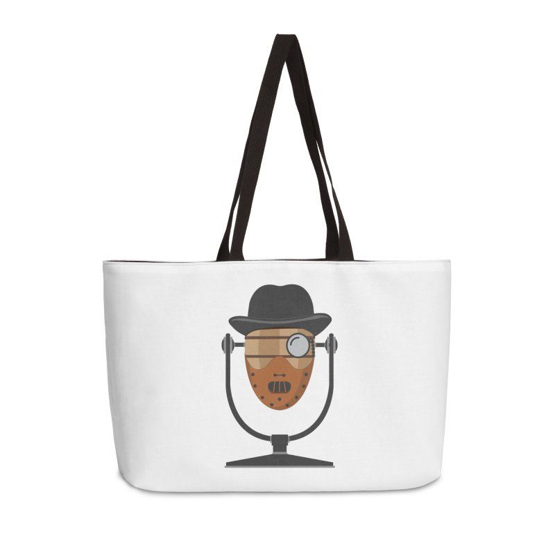 Halloween Hoppy - Hannibal Lecter Accessories Weekender Bag Bag by Barrel Chat Podcast Merch Shop