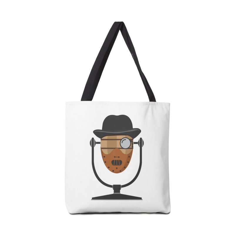 Halloween Hoppy - Hannibal Lecter Accessories Tote Bag Bag by Barrel Chat Podcast Merch Shop