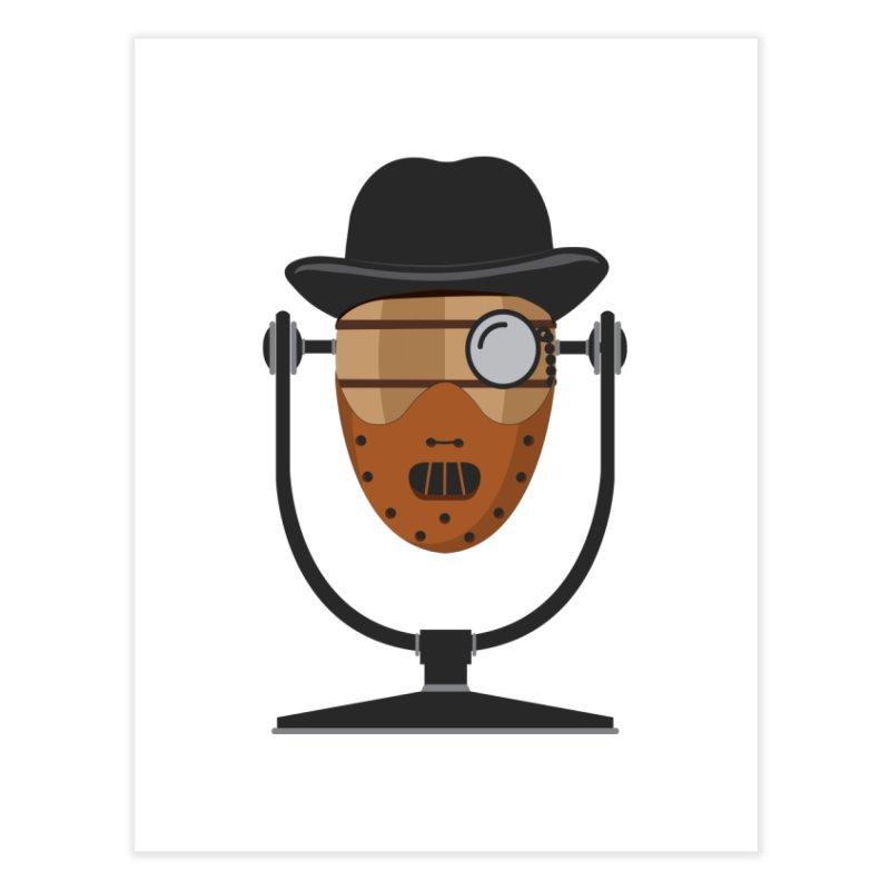 Halloween Hoppy - Hannibal Lecter Home Fine Art Print by Barrel Chat Podcast Merch Shop