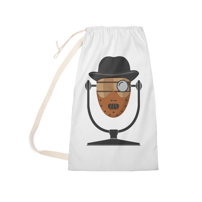 Halloween Hoppy - Hannibal Lecter Accessories Laundry Bag Bag by Barrel Chat Podcast Merch Shop