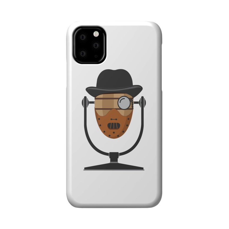 Halloween Hoppy - Hannibal Lecter Accessories Phone Case by Barrel Chat Podcast Merch Shop