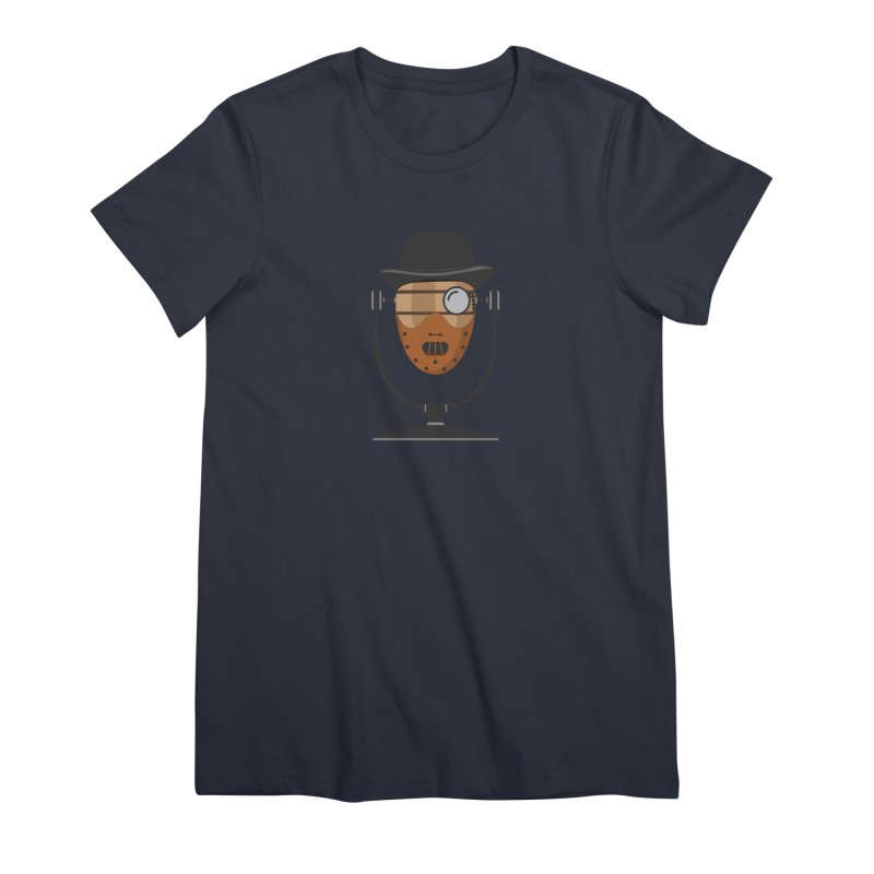 Halloween Hoppy - Hannibal Lecter Women's Premium T-Shirt by Barrel Chat Podcast Merch Shop