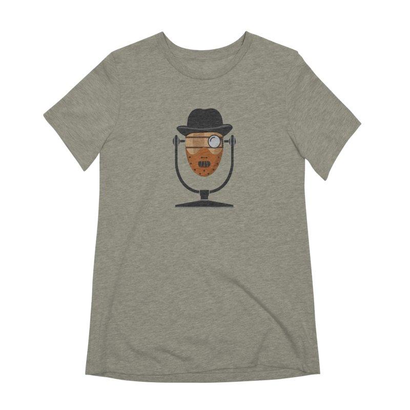 Halloween Hoppy - Hannibal Lecter Women's Extra Soft T-Shirt by Barrel Chat Podcast Merch Shop