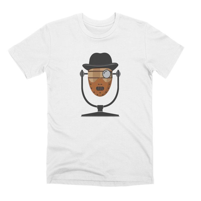 Halloween Hoppy - Hannibal Lecter Men's Premium T-Shirt by Barrel Chat Podcast Merch Shop