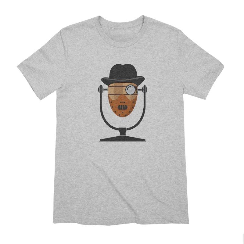 Halloween Hoppy - Hannibal Lecter Men's Extra Soft T-Shirt by Barrel Chat Podcast Merch Shop