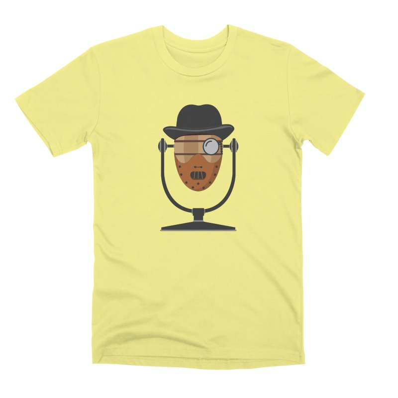 Halloween Hoppy - Hannibal Lecter Men's Premium T-Shirt by Barrel Chat Podcast Merch Shop