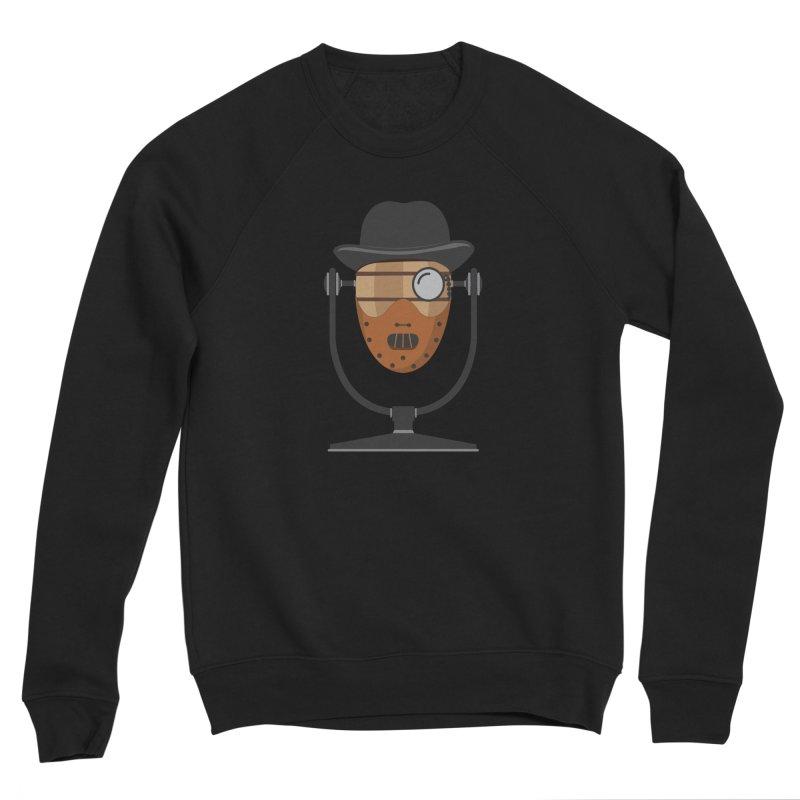 Halloween Hoppy - Hannibal Lecter Men's Sponge Fleece Sweatshirt by Barrel Chat Podcast Merch Shop