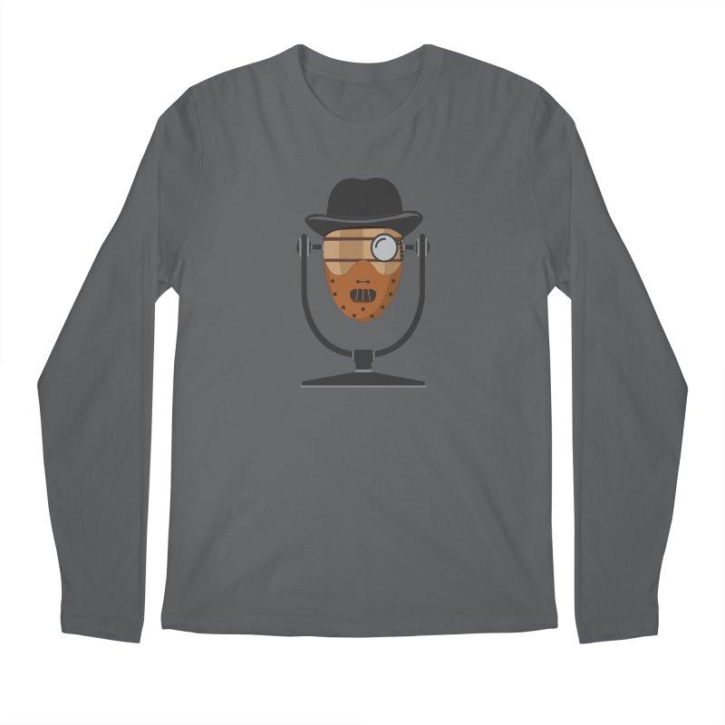 Halloween Hoppy - Hannibal Lecter Men's Longsleeve T-Shirt by Barrel Chat Podcast Merch Shop