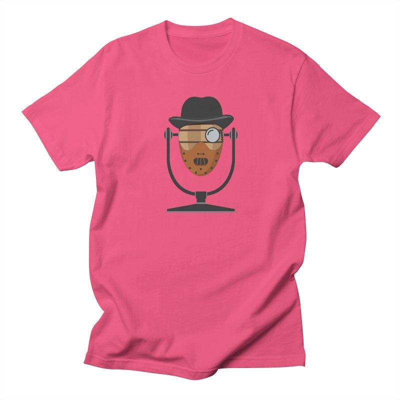 Halloween Hoppy - Hannibal Lecter Men's T-Shirt by Barrel Chat Podcast Merch Shop