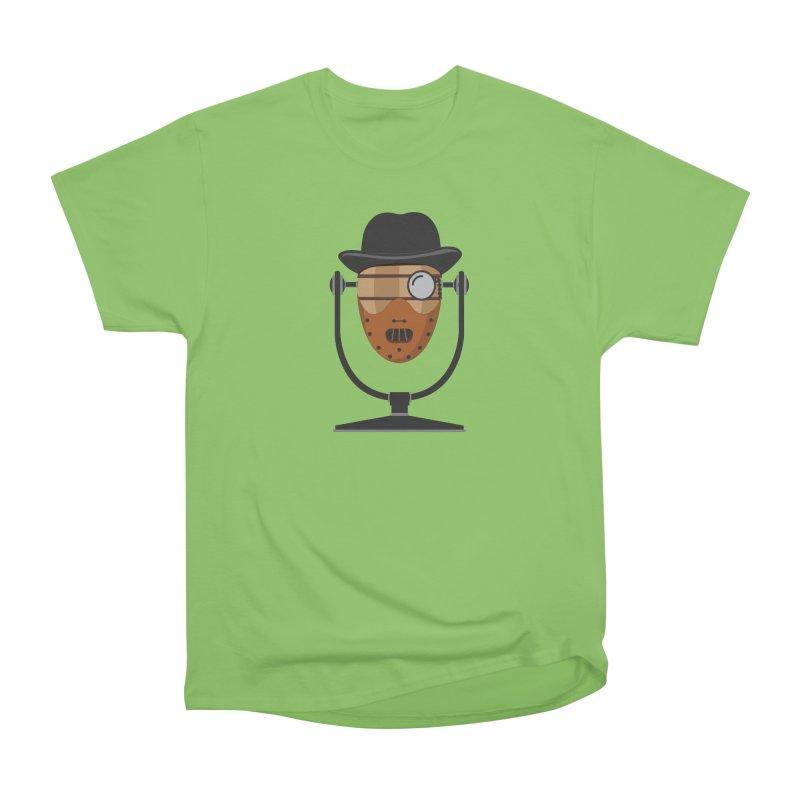 Halloween Hoppy - Hannibal Lecter Women's Heavyweight Unisex T-Shirt by Barrel Chat Podcast Merch Shop