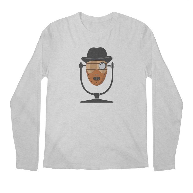 Halloween Hoppy - Hannibal Lecter Men's Regular Longsleeve T-Shirt by Barrel Chat Podcast Merch Shop