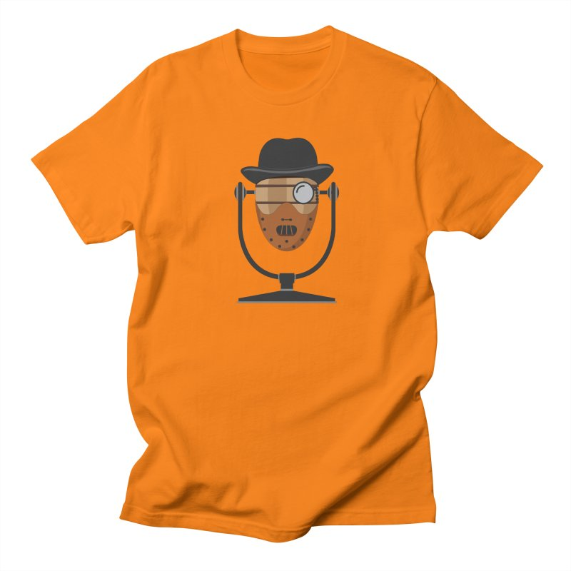 Halloween Hoppy - Hannibal Lecter Men's Regular T-Shirt by Barrel Chat Podcast Merch Shop