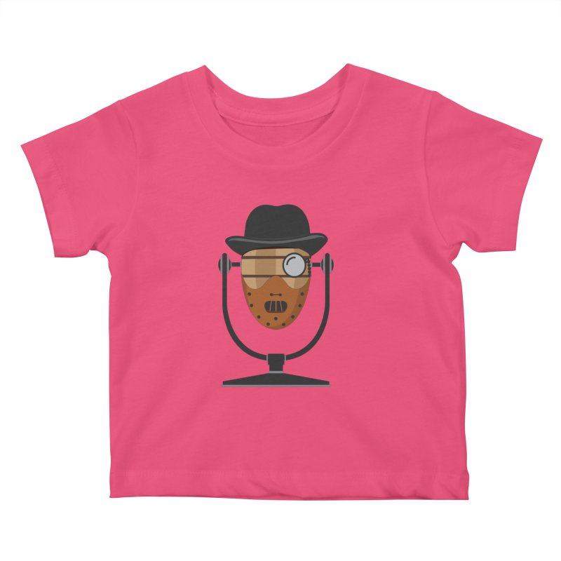 Halloween Hoppy - Hannibal Lecter Kids Baby T-Shirt by Barrel Chat Podcast Merch Shop
