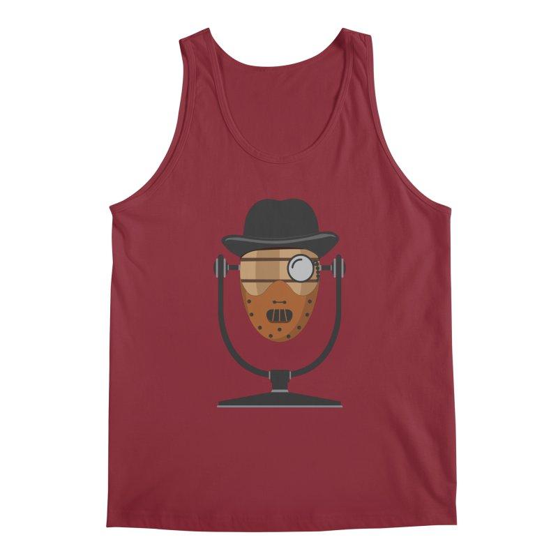 Halloween Hoppy - Hannibal Lecter Men's Tank by Barrel Chat Podcast Merch Shop