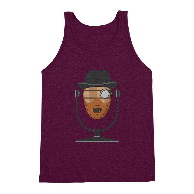 Halloween Hoppy - Hannibal Lecter Men's Triblend Tank by Barrel Chat Podcast Merch Shop