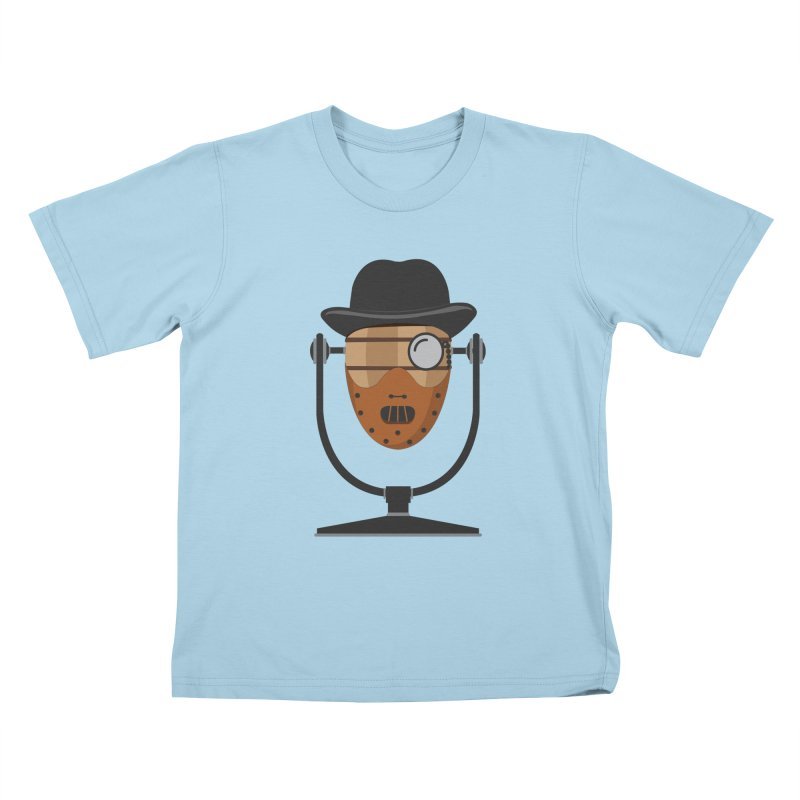 Halloween Hoppy - Hannibal Lecter Kids T-Shirt by Barrel Chat Podcast Merch Shop