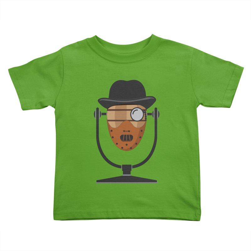 Halloween Hoppy - Hannibal Lecter Kids Toddler T-Shirt by Barrel Chat Podcast Merch Shop