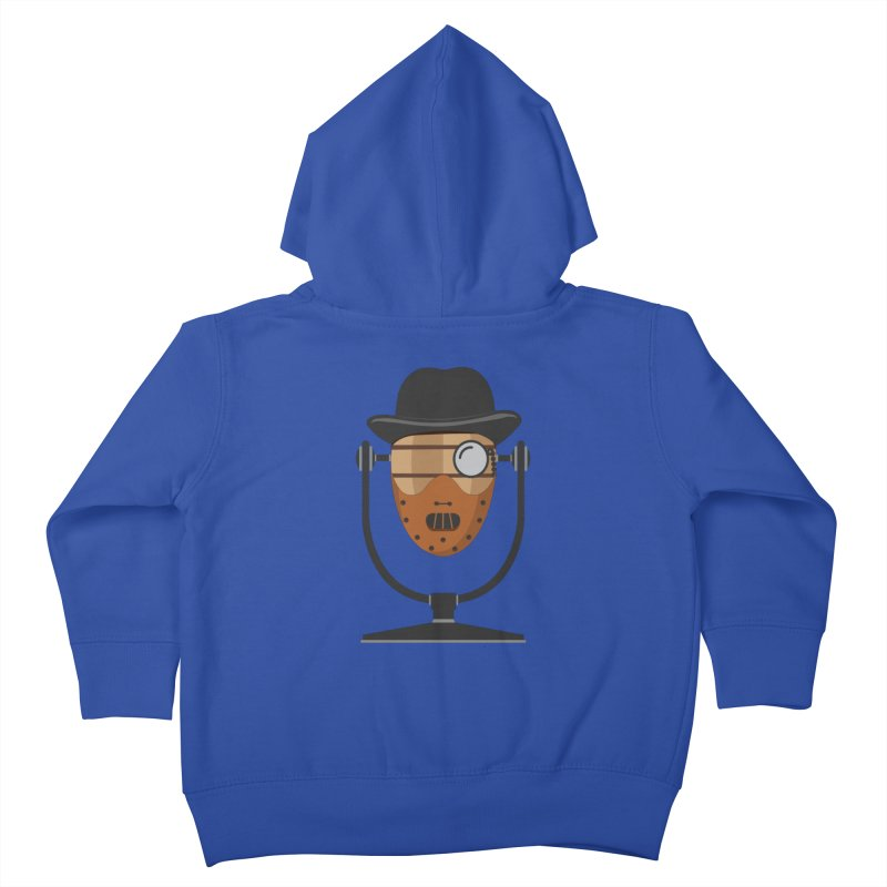 Halloween Hoppy - Hannibal Lecter Kids Toddler Zip-Up Hoody by Barrel Chat Podcast Merch Shop