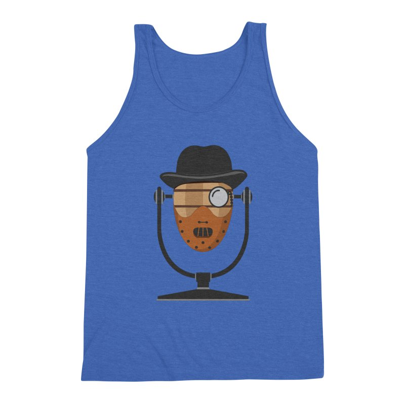 Halloween Hoppy - Hannibal Lecter Men's Triblend Tank by Barrel Chat Podcast Merch Shop