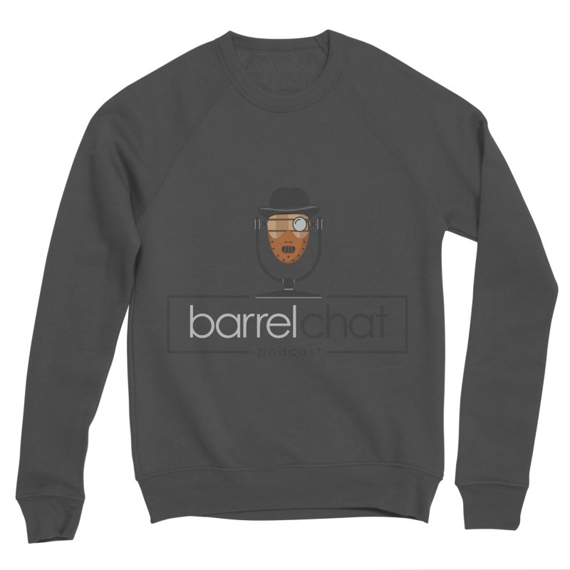 Barrel Chat Podcast - Halloween (Hannibal Lecter) Men's Sweatshirt by Barrel Chat Podcast Merch Shop