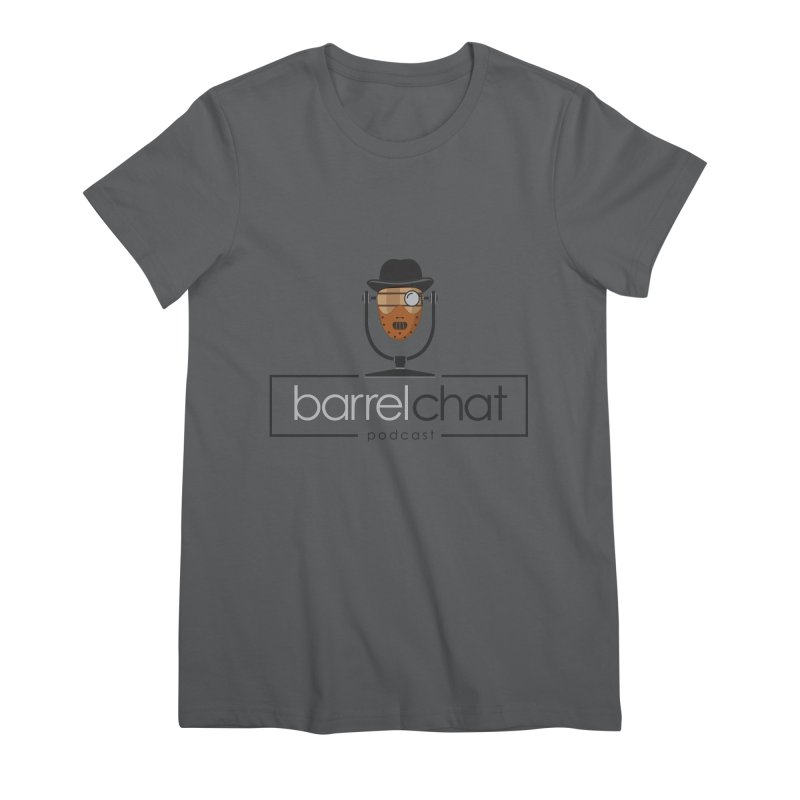 Barrel Chat Podcast - Halloween (Hannibal Lecter) Women's Premium T-Shirt by Barrel Chat Podcast Merch Shop