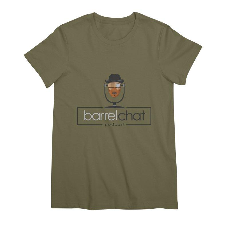 Barrel Chat Podcast - Halloween (Hannibal Lecter) Women's Premium T-Shirt by Barrel Chat Podcast Merch Shop