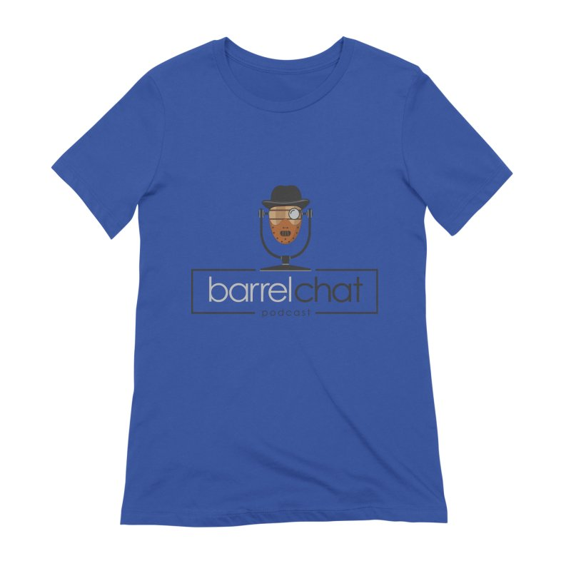 Barrel Chat Podcast - Halloween (Hannibal Lecter) Women's Extra Soft T-Shirt by Barrel Chat Podcast Merch Shop