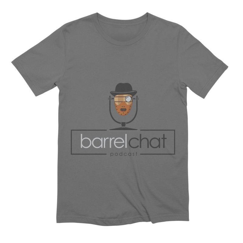 Barrel Chat Podcast - Halloween (Hannibal Lecter) Men's T-Shirt by Barrel Chat Podcast Merch Shop