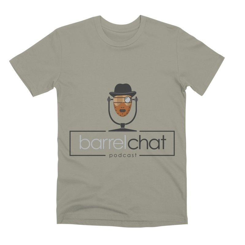 Barrel Chat Podcast - Halloween (Hannibal Lecter) Men's Premium T-Shirt by Barrel Chat Podcast Merch Shop