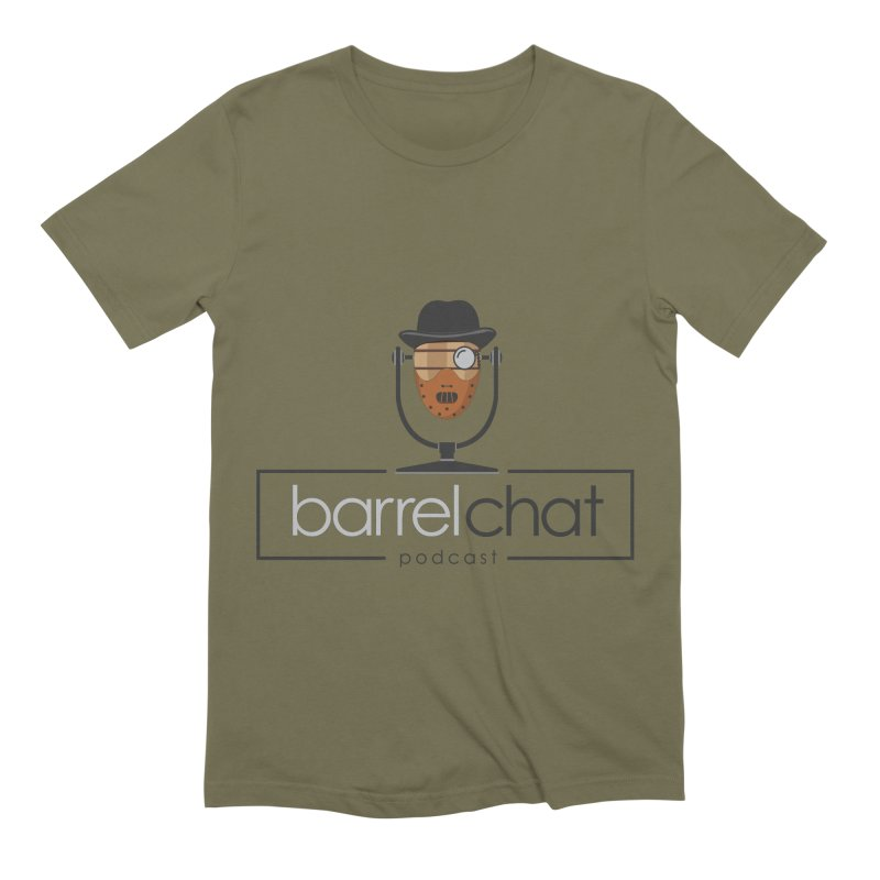 Barrel Chat Podcast - Halloween (Hannibal Lecter) Men's Extra Soft T-Shirt by Barrel Chat Podcast Merch Shop