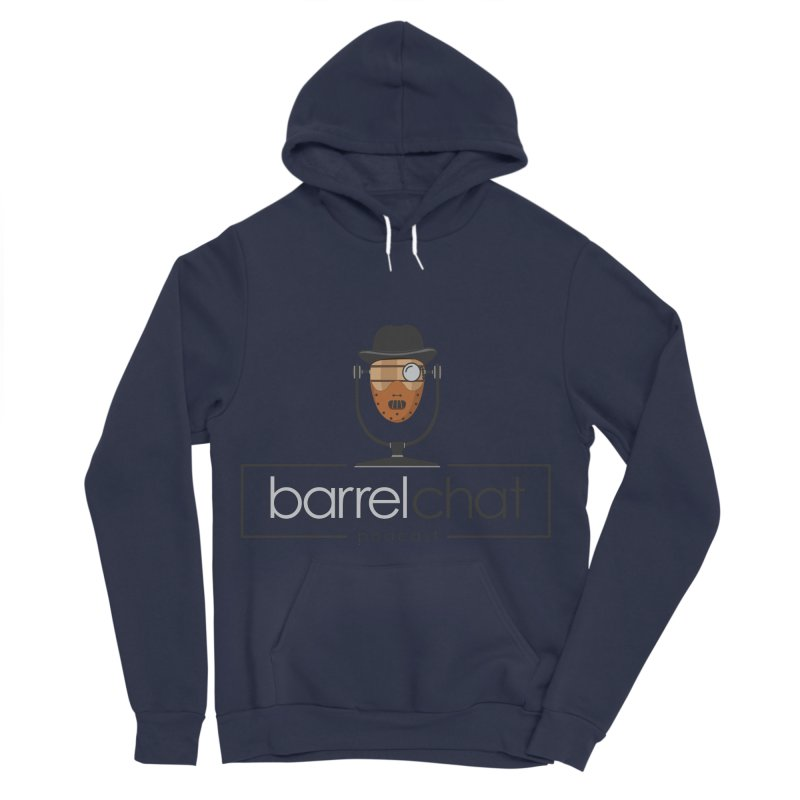 Barrel Chat Podcast - Halloween (Hannibal Lecter) Women's Sponge Fleece Pullover Hoody by Barrel Chat Podcast Merch Shop