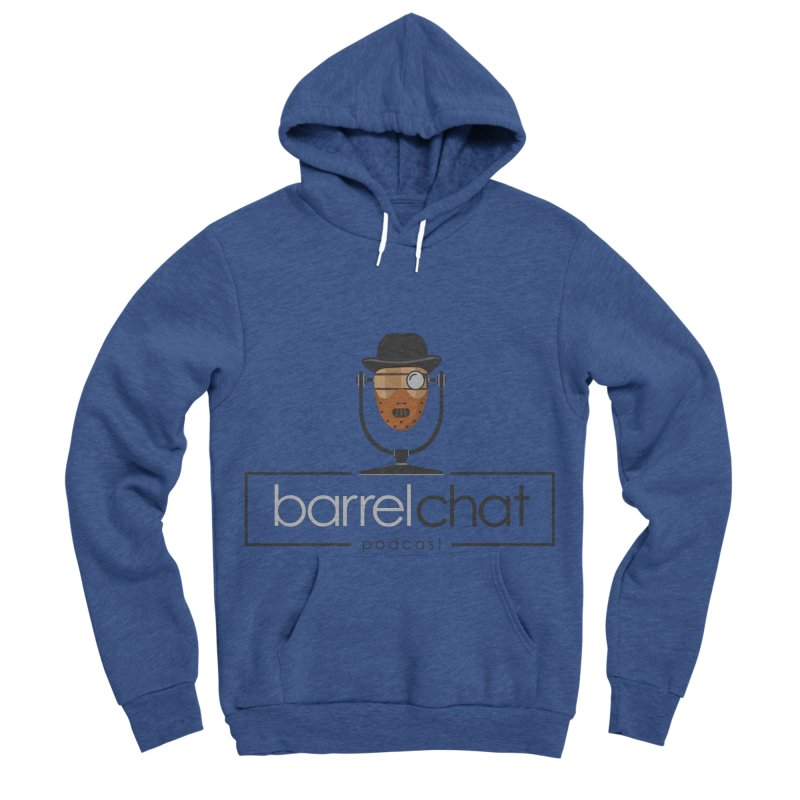 Barrel Chat Podcast - Halloween (Hannibal Lecter) Men's Sponge Fleece Pullover Hoody by Barrel Chat Podcast Merch Shop