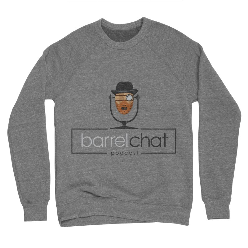 Barrel Chat Podcast - Halloween (Hannibal Lecter) Men's Sponge Fleece Sweatshirt by Barrel Chat Podcast Merch Shop