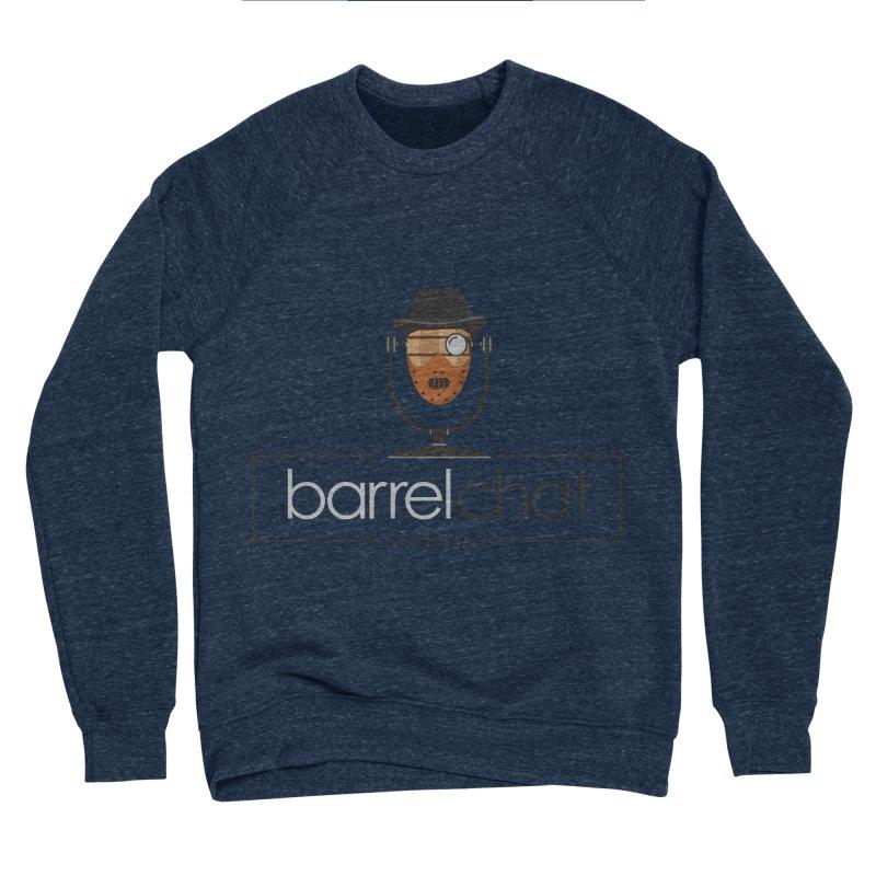 Barrel Chat Podcast - Halloween (Hannibal Lecter) Men's Sponge Fleece Sweatshirt by Barrel Chat Podcast Merch Shop