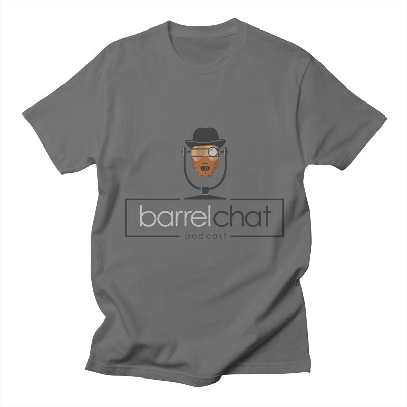 Barrel Chat Podcast - Halloween (Hannibal Lecter) Men's T-Shirt by Barrel Chat Podcast Merch Shop