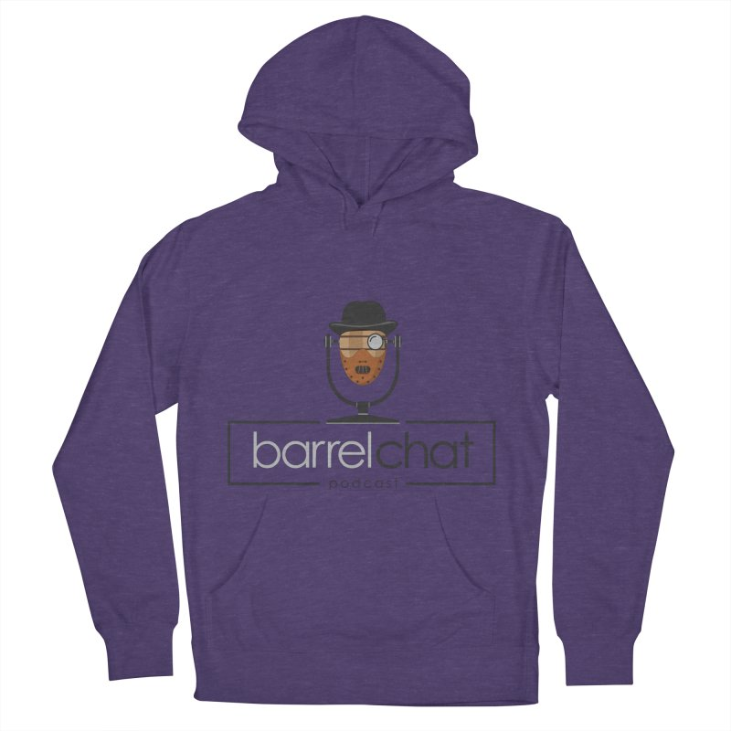 Barrel Chat Podcast - Halloween (Hannibal Lecter) Men's French Terry Pullover Hoody by Barrel Chat Podcast Merch Shop