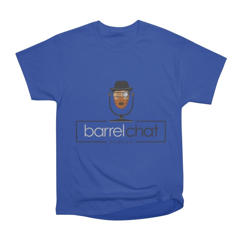 Barrel Chat Podcast - Halloween (Hannibal Lecter) Women's Heavyweight Unisex T-Shirt by Barrel Chat Podcast Merch Shop