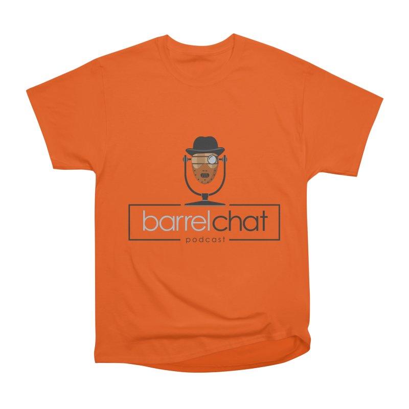 Barrel Chat Podcast - Halloween (Hannibal Lecter) Women's Heavyweight Unisex T-Shirt by Barrel Chat Podcast Merch Shop