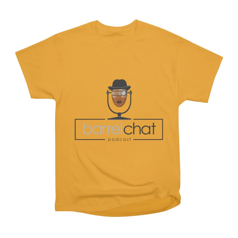 Barrel Chat Podcast - Halloween (Hannibal Lecter) Men's Heavyweight T-Shirt by Barrel Chat Podcast Merch Shop
